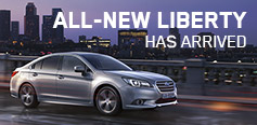 All-new Subaru Liberty has arrived